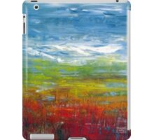 Abstract in oil. iPad Case/Skin