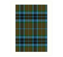 00007 Thompson-Thomson-MacTavish Hunting Tartan  Art Print