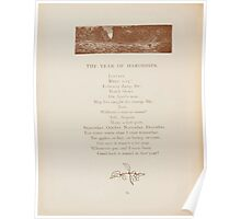 Rhymes for the Young Folk William and Hellen Allingham art Kate Greenaway 0074 Year of Hardships Poster
