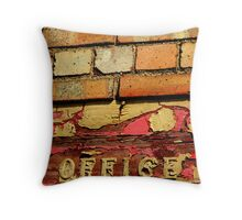 To the office Throw Pillow