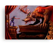 The Boy Who Cried Wolf - Special Edition Canvas Print