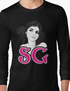 you can't touch suicide girl Long Sleeve T-Shirt