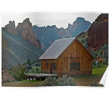 Cabin in The Canyons Poster