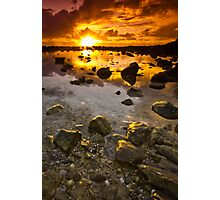 Dawn at Burleigh Heads Photographic Print