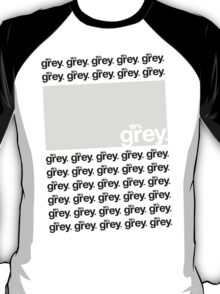 18% Grey Test Tee V2 T-Shirt