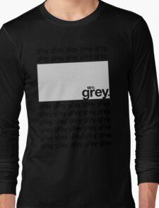 18% Grey Test Tee V2 Long Sleeve T-Shirt