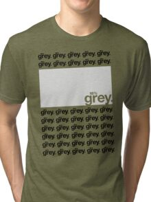 18% Grey Test Tee V2 Tri-blend T-Shirt