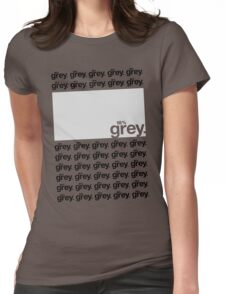 18% Grey Test Tee V2 Womens Fitted T-Shirt