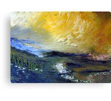 A landscape Canvas Print