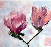 Magnolias by GeertWinkel