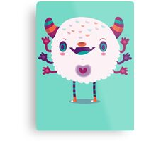 Puffy monster Metal Print