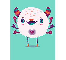 Puffy monster Photographic Print