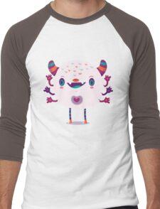 Puffy monster Men's Baseball ¾ T-Shirt
