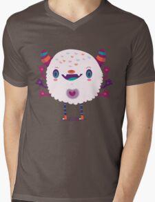 Puffy monster Mens V-Neck T-Shirt