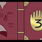 Gravity Falls // Journal 3 by hocapontas
