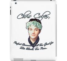 Chris Colfer: Perfect Cinnamon Roll iPad Case/Skin