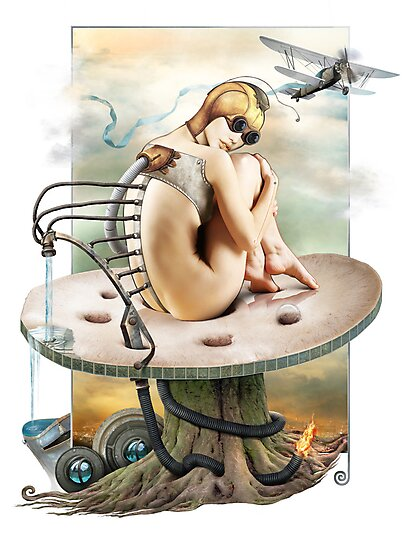 Elemental by Yuliya Art