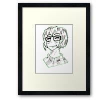 basic fangirl Framed Print