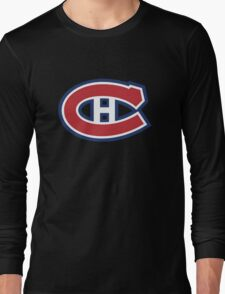 retro montreal canadiens Long Sleeve T-Shirt