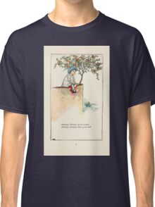 Mother Goose or the Old Nursery Rhymes by Kate Greenaway 1881 0045 Humpty Dumpty Classic T-Shirt