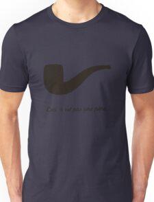 Ceci n'est pas une pipe. Unisex T-Shirt