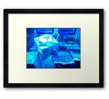 Square in square - whatizzit?  Framed Print
