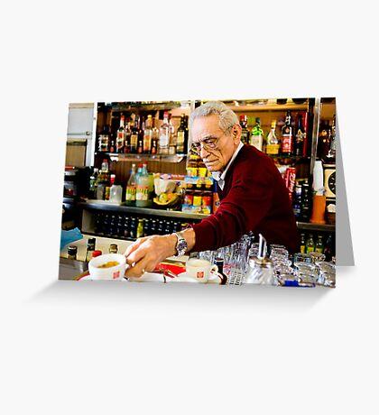 Café Testaccio Greeting Card