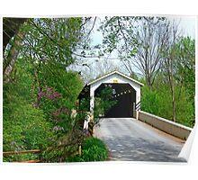 Baumgardner Mill Covered Bridge Poster