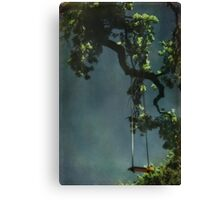 Swing For The Stars Canvas Print