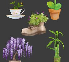 Potted Plants by Maysoulrose