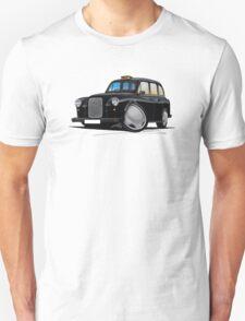 London Fairway Taxi Black T-Shirt