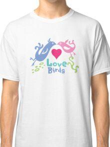Love Birds - light colors Classic T-Shirt