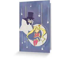 Hey there Sailor Moon Greeting Card
