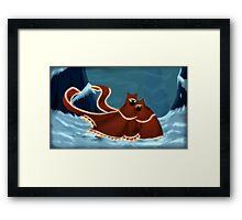 Journey: Keep Me Warm Framed Print