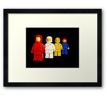 Spacemen team photo Framed Print