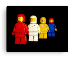 Spacemen team photo Canvas Print