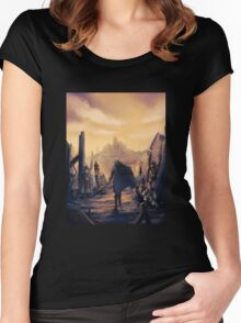 Future Past Women's Fitted Scoop T-Shirt