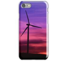 Sunset Windmill iPhone Case/Skin