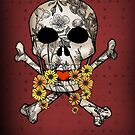 Vintage Skull Valentine by CatAstrophe