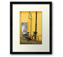Bike In campo De Fiori Framed Print