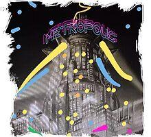 Neon Metropolis by Chronos82