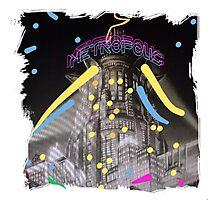 Neon Metropolis Photographic Print