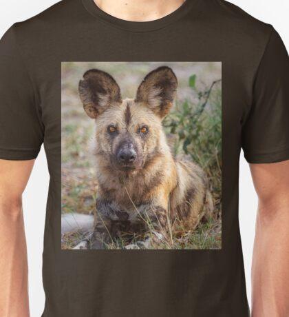 Wild Face of a Dog Unisex T-Shirt