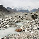 Ngozumpa Glacier - Nepal by Derek McMorrine