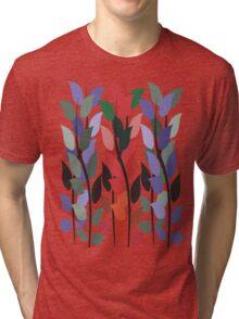 Leaves on Stems T Shirt Tri-blend T-Shirt