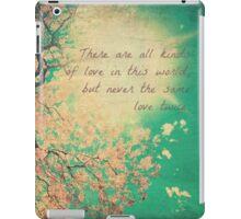 All Kinds of Love iPad Case/Skin