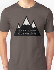 Just Keep Climbing T-Shirt