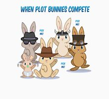 When Plot Bunnies Compete Unisex T-Shirt