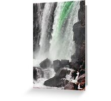 Gulfoss Waterfall, Iceland Greeting Card