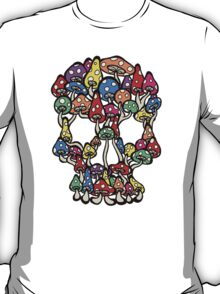 Skull Mushrooms T-Shirt